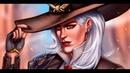 SpeedPaint (Photoshop) - Overwatch - Ashe