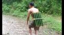 Water Pipe Bamboo / Survival Skills Primitive / 17.07.2017