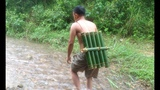 Water Pipe Bamboo Survival Skills Primitive 17.07.2017