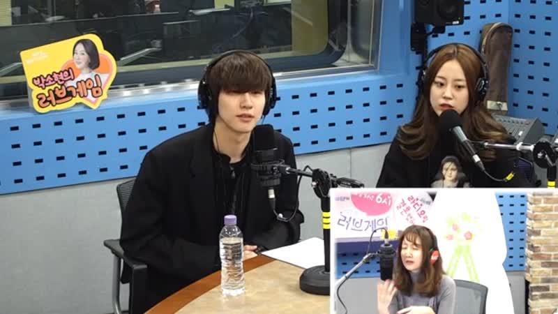 190130 Хо Ёнджи и Ли Сын Хёб ( Lee Seung Hyub (J.DON) на радио эфире SBS Power FM Park Sohyun's Love Game