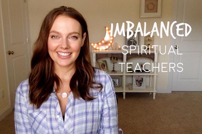 Imbalanced Spiritual Teachers