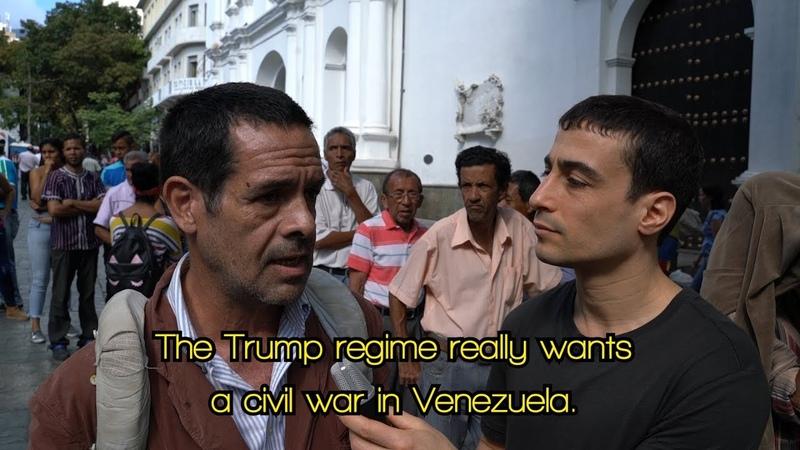 'Trump regime wants a civil war': Venezuelans condemn US-led coup attempt