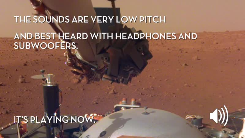 Sounds of Mars NASA's InSight Senses Martian Wind