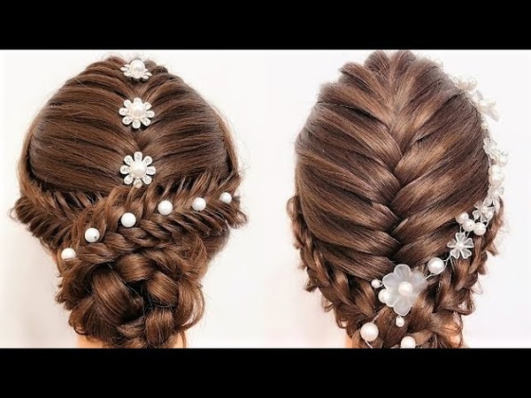 10 Types of braided long hair style wedding festival party school Hairstyles for long hair