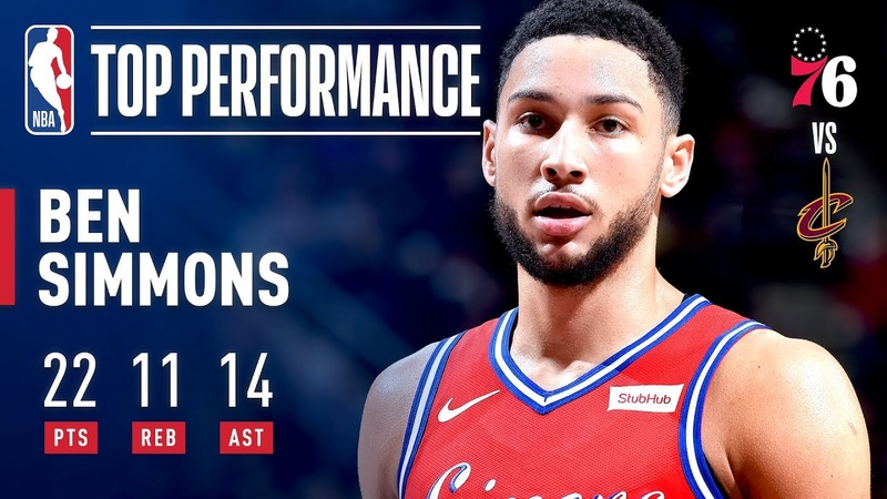 Ben Simmons HISTORIC Performance Leads Sixers To Win Over Cavs | December 16, 2018