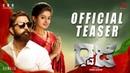 Dhwaja Official Kannada Teaser Ravi Priyamani Santhosh Narayanan Chinna Ashok Cashyap