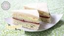 Korean Food Ingigayo Sandwich 인기가요 샌드위치 Popcorn Bread 팝콘 브레드 한국어 자막 포함