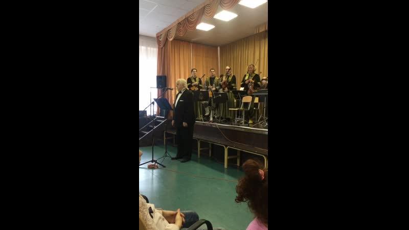 Лужская средняя общеобразовательная школа № 3 актовый зал Государственный оркестр русских народных инструментов Метелица Один