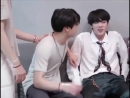 JK and his obsession with Jins nipples lmao jinkook jin jungkook