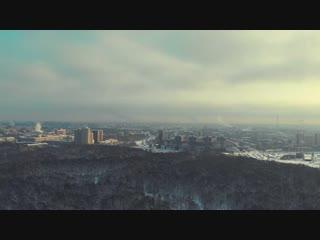 Санкт-Петербург, Удельный парк, Полёт на DJI Mavic Air. (27.01.2019)
