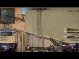 NAF взял клатч 1в3 на пистолетке vs HellRaisers @ FACEIT Major