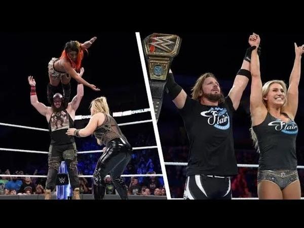 WWE Mixed Match Challenge 18/09/2018 Highlights HD - WWE Mixed Match Challenge 18th September 2018