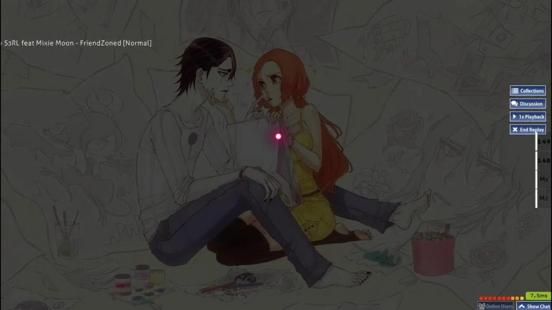 [Normal] [DT, HR] S3RL feat Mixie Moon - FriendZoned — 96,17