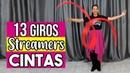 13 Giros que puedes hacer con Streamers/Cintas - Danza Cristiana   Sarah Yuritza
