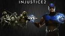Injustice 2 - Черепашки-Ниндзя против Атома - Intros Clashes rus