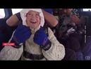 102-летняя бабушка прыгнула с парашютом