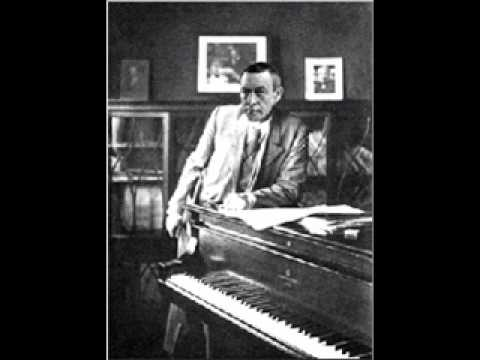 Rachmaninoff Prelude in E Op 32 No 3 Rachmaninoff Rec 1940