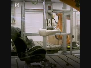 Роботизированный зад поможет Ford улучшить кресла в машинах