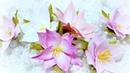 Lilies from foamiran Video Tutorial