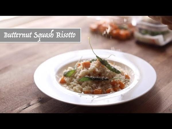 Butternut Squash Risotto (Restaurant Style)