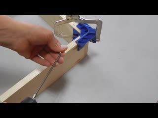 Угловая струбцина kreg corner clamp 90° (аналог из китая)