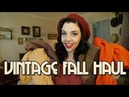 VINTAGE STYLE FALL HAUL Thrifted Repro Try on