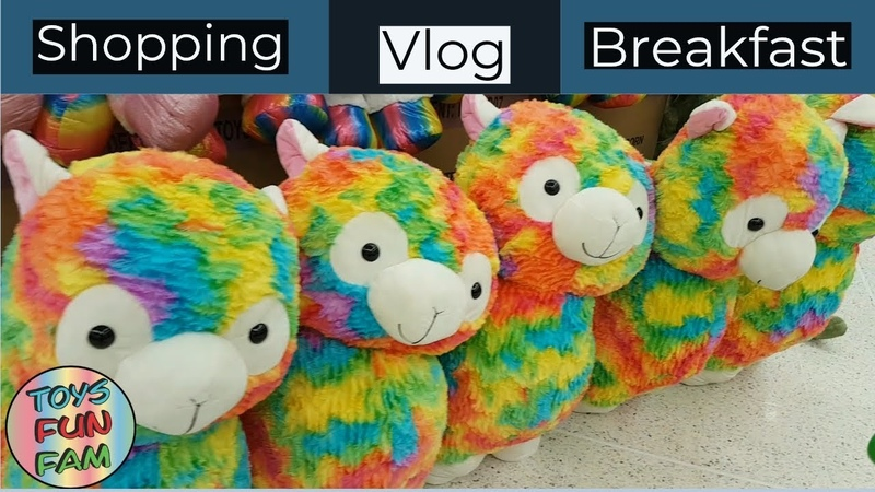 Breakfast Shopping Vlog Wednesday 17th October 2018 | Toys Fun fam