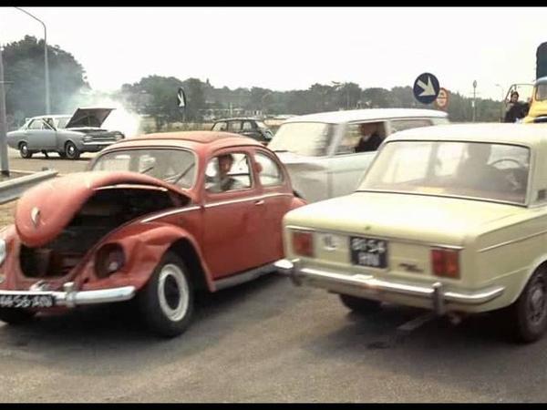 Jacques Tati Trafic 1971 Un accident de la circulation