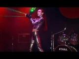 Cyber punk Meylis laser dance show