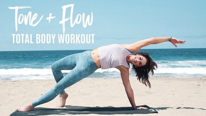 The Best 8-Minute Total Body Workout | Tone Flow With Karena
