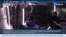 Новости на Россия 24 Морозный Новый год девять жителей Владимира застряли на колесе обозрения