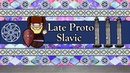 The Sound of the Late Proto Slavic Language Schleichers Fable, Story Numbers