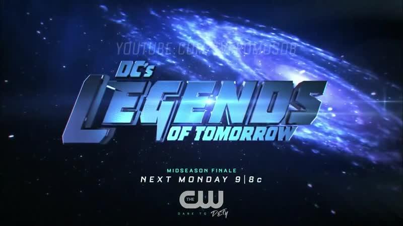 CW Legends of Tomorrow 4x08 Promo
