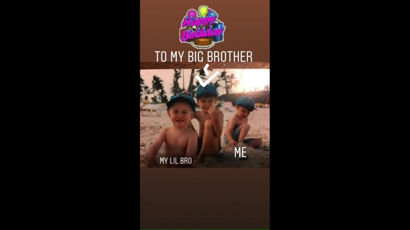 Archie Cruz : Happy Birthday to my big brother!
