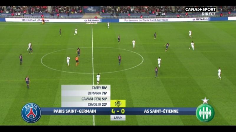 Paris vs Saint-Étienne 4-0