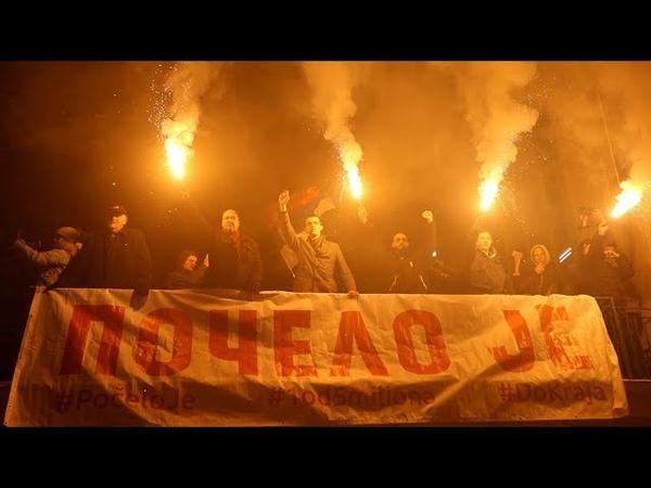 Два месяца протестов: почему Сербия ищет поддержки у Путина?