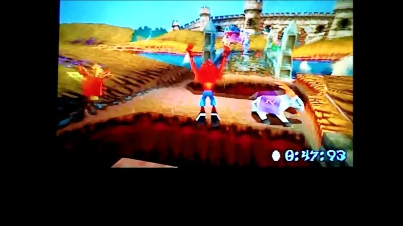 Crash Bandicoot 3 Warped (NTSC-J).Time Trial.Double Header.5566 Progress, progress)