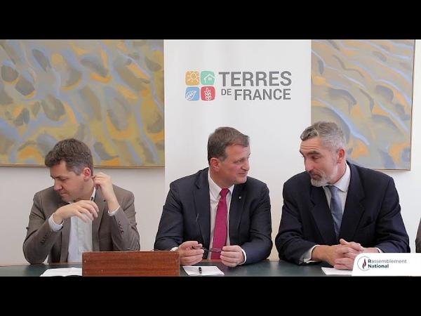 Lancement du Forum : Terres de France. Agriculture Ruralité.