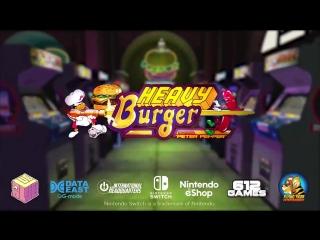 Johnny Turbo's Arcade: Heavy Burger трейлер для Nintendo Switch