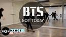 BTS Not Today Dance Tutorial Chorus Ending