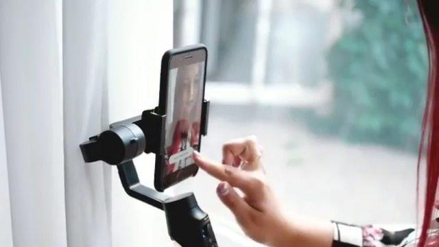 😍Мобильный стабилизатор 👉🏻Moza Mini-Mi Black - ⚡️Встроенная беспроводная зарядка для смартфона 📸Приложение с профес...