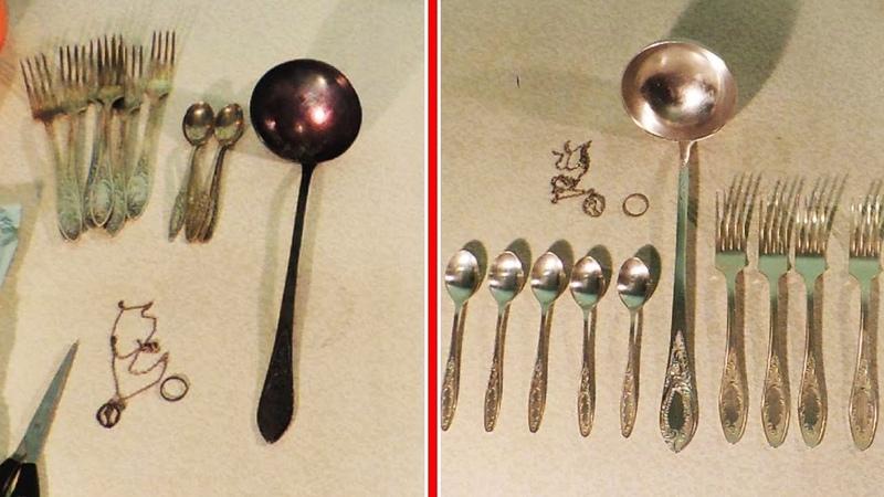 Как почистить до блеска мельхиор серебро медь нержавейку и другое