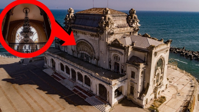 CASINO FOR THE ELITE LEFT ABANDONED BY THE BLACK SEA (Constanta)