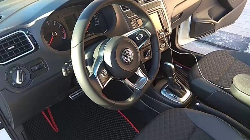 Volkswagen Polo седан eva коврики в салон evabel.ru
