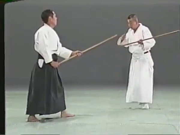 Masakatsu bo jutsu - hikitsuchi michio sensei