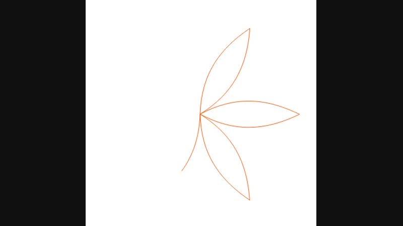 Солнечная мандала SVG анимация