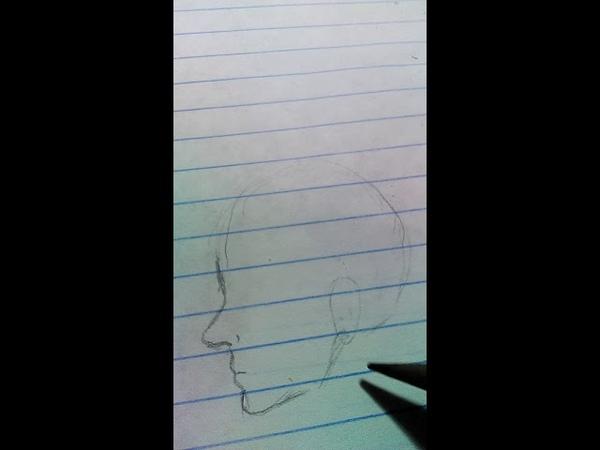 Как рисовать лицо(без слов )