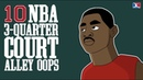 10 NBA 3-Quarter-Court Alley Oops