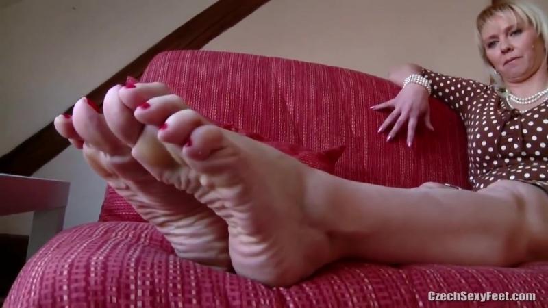 Czech Milf Ticklish Feet