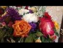 Букет 💐 для любимой свекрови цветник у свата обнищал 😁💐💐💐